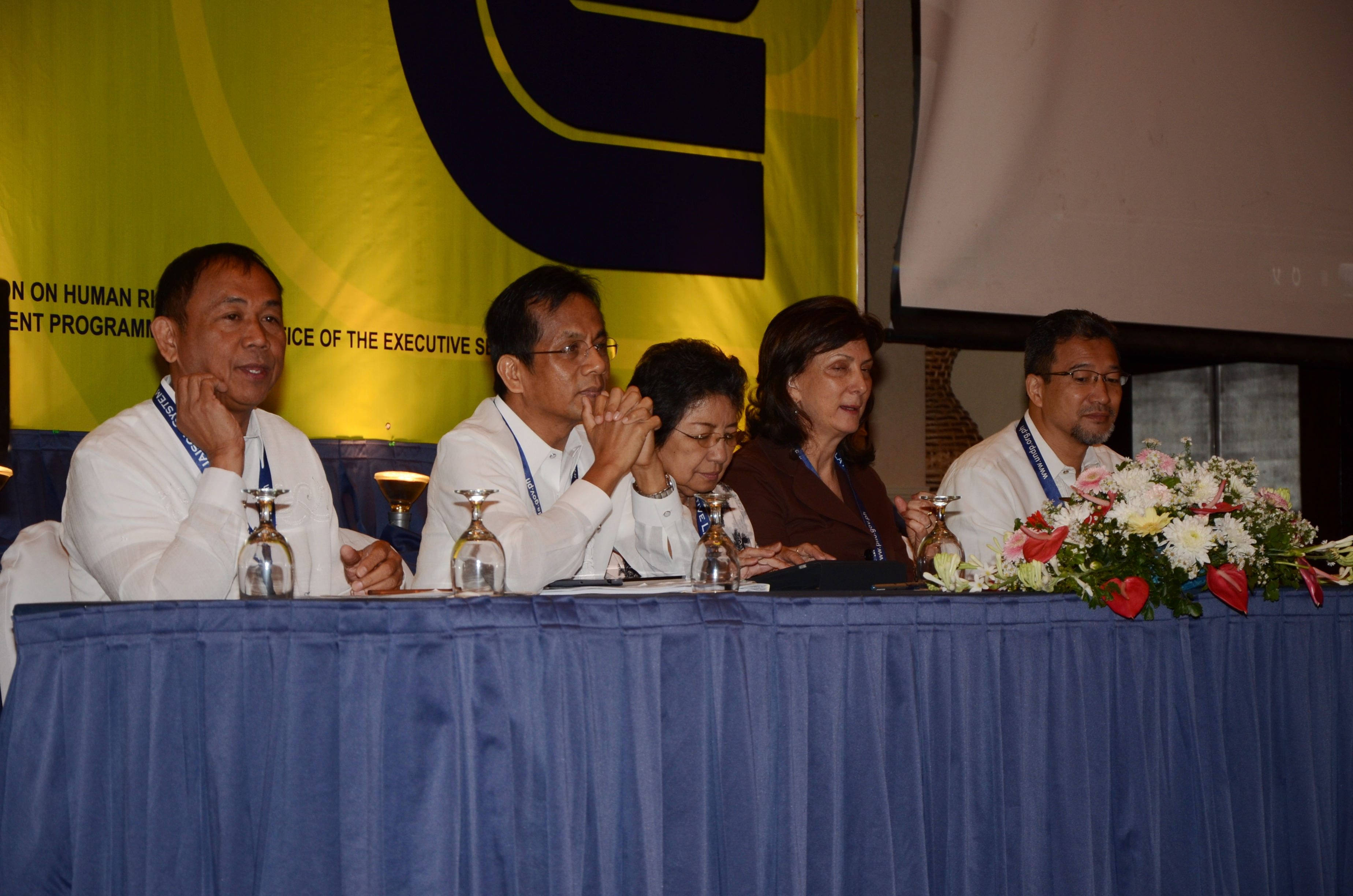(5) LEDAC Secretariat, PLLO, CHR, and UNDP co-organize the LLS workshop in 16th Congress